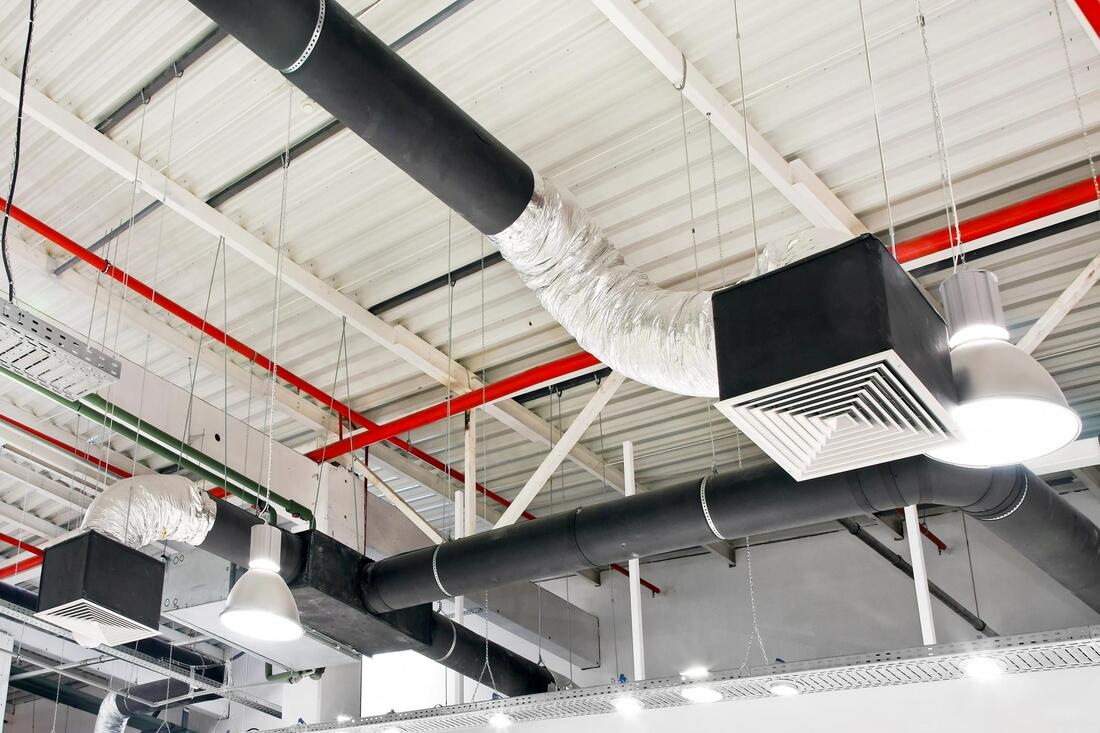 a commercial air duct cleaner